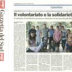 Articolo Gazzetta del Sud 14.10.2013