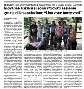 Articolo Gazzetta del Sud Festa degli Adultissimi 2013_28.07.2013_