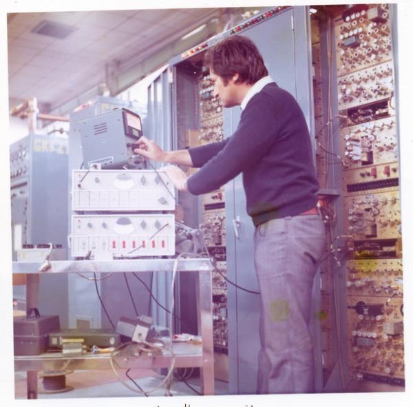 controllo ricevitori base IMMZ di Monte Mancuso, Catanzaro, 1974.