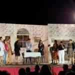 """Ritorno in scena della Compagnia Teatrale """"i Liticanti"""" che hanno animato, durante una calda serata di agosto, la piazza di San Gennaro a Martirano (Cz)"""